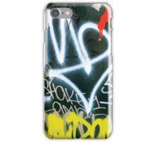 Tag - Orange, White, Yellow iPhone Case/Skin