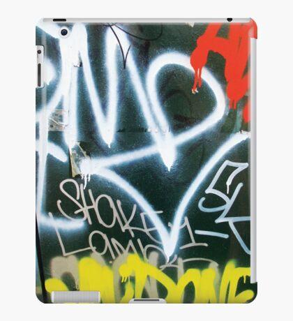 Tag - Orange, White, Yellow iPad Case/Skin