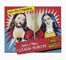 Jesus and Mary Cleaning Services by JoelCortez