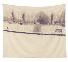 Winter Garden Wall Tapestry