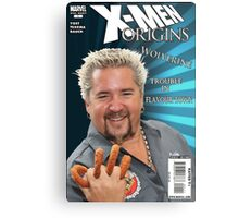 Guy Fieri/ Wolverine Mash up Metal Print