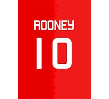 Rooney #10 Photographic Print