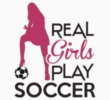 Real girls play soccer by nektarinchen