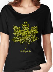 THE TRAGICALLY HIP - SUMMER TOUR 2016 - TYPOGRAPHY YELLOW Women's Relaxed Fit T-Shirt