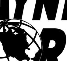 Wayne's World Logo Sticker