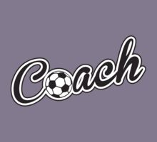 Football Soccer Coach Kids Tee
