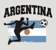 Argentina Football / Soccer by nektarinchen