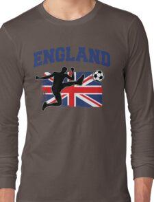 England Football / Soccer Long Sleeve T-Shirt