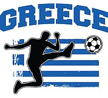 Greece Football / Soccer Photographic Print