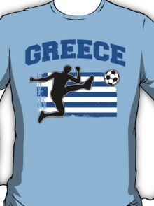 Greece Football / Soccer T-Shirt
