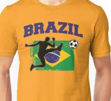 Brazil Football / Soccer Unisex T-Shirt