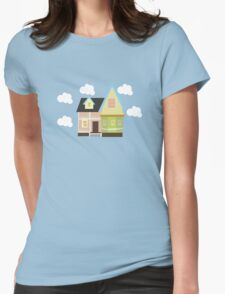Up House Womens Fitted T-Shirt