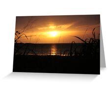 Weipa Sunset - Cape York Peninsula Greeting Card