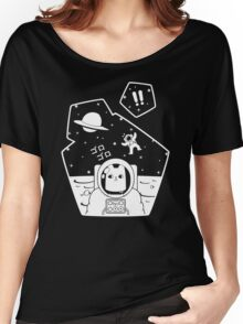 Oblivious Explorer of Space Women's Relaxed Fit T-Shirt