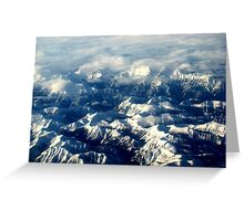 Splendour Of The Rockies Greeting Card