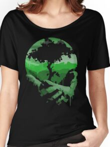 Earth day in our hands Women's Relaxed Fit T-Shirt