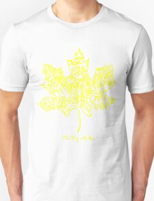 THE TRAGICALLY HIP - SUMMER TOUR 2016 - TYPOGRAPHY YELLOW Unisex T-Shirt