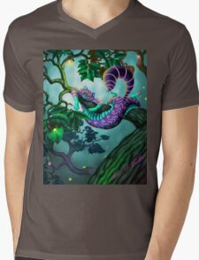 JuneBugg the Cheshire Cat Mens V-Neck T-Shirt