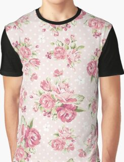 Beautiful rose pink background Graphic T-Shirt