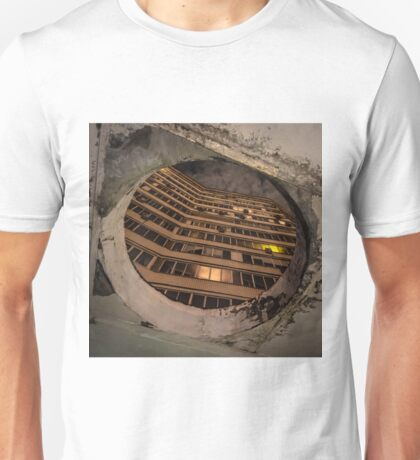 Russian concrete apartment block and portal Unisex T-Shirt