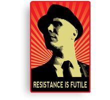 Resistance is Futile - Fringe Observer  Canvas Print