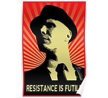 Resistance is Futile - Fringe Observer  Poster