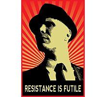 Resistance is Futile - Fringe Observer  Photographic Print