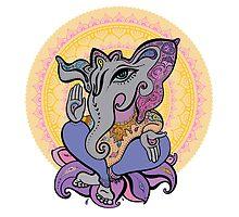 Ganesha.  by Katyau