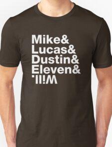 Upside Down Stranger Things Unisex T-Shirt