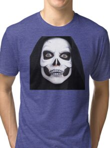 Ghost in Halloween - Halloween gift - Awesome in Halloween day Tri-blend T-Shirt