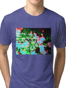 LSD definition of happiness Tri-blend T-Shirt