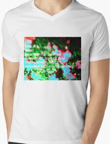LSD definition of happiness Mens V-Neck T-Shirt
