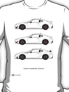 Subaru BRZ/Scion FR-S/Toyota 86  T-Shirt