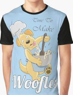 Time to make Woofles - Dog Chef Graphic T-Shirt
