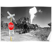 Stop for Trains Poster
