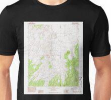USGS TOPO Map Arizona AZ Red Valley 313075 1982 24000 Unisex T-Shirt