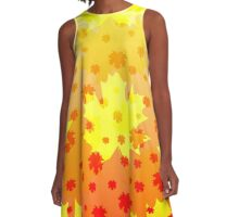 Magic in September A-Line Dress