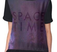 Space Time Chiffon Top