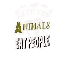 Save the animals Photographic Print