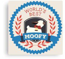 World's Best Moofy Canvas Print