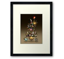 Yoki - The Happy Traveller Framed Print