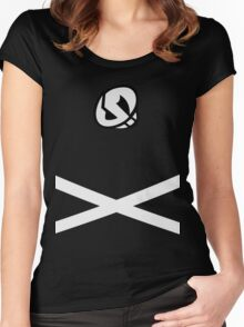 Team Skull (Design) Women's Fitted Scoop T-Shirt