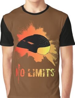 Fire helmet no limits Graphic T-Shirt