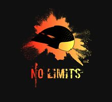 Fire helmet no limits Unisex T-Shirt