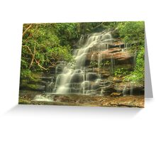 Upper Somersby Falls Greeting Card