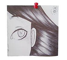 Post-it doodle Project ~ Original (07) Photographic Print