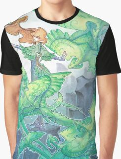 dancing wind dragons Graphic T-Shirt