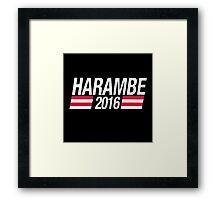 Harambe The Gorilla Framed Print