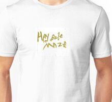 Hay Bale Maze Unisex T-Shirt