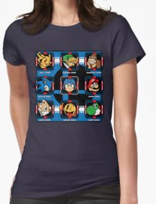 Mega-Smash Womens Fitted T-Shirt